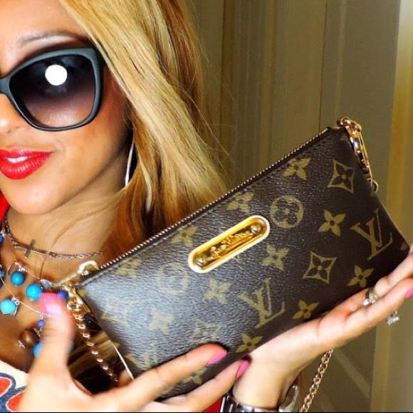 2223264a8541 Louis Vuitton Handbags - Louis Vuitton Monogram Milla Clutch Purse Bag